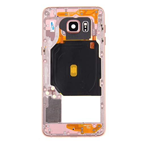 DASHOU Komponenten for Samsung Eye Frame Lünette for Galaxy S6 Edge + / G928 (Pink) (Farbe : Rosa)