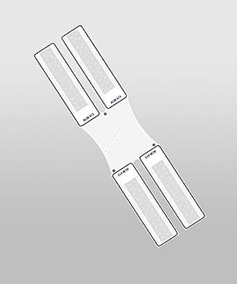 APAC Leuchten ALM-413-4 Parallel LED Hallenbeleuchtung / Industrieleuchte