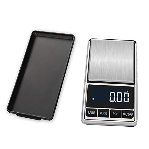 DuDuDu Poids de Cuisine Bijoux échelle numérique de Poche électronique Poids Mini précision Balance LCD échelle