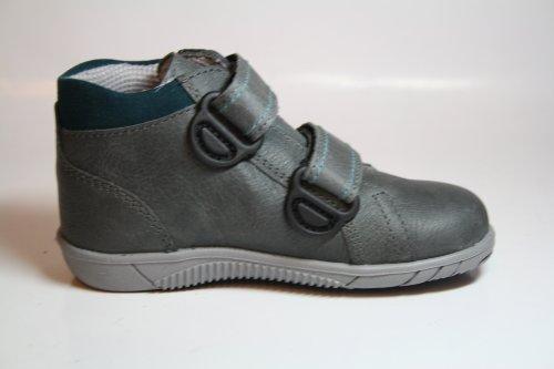 Richter Kinderschuhe , Chaussures de ville à lacets pour garçon - Grau (steel/petrol 6501)
