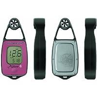 JDC Electronics Skywatch Xplorer 4 - Medidor de temperatura y viento, brújula y barómetro, color rojo