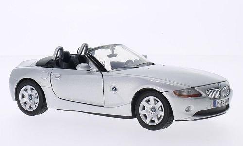 BMW Z4 (E85), argenté, 2003, voiture miniature, Miniature d'occasion  Livré partout en Belgique