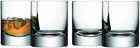 LSA International 250 ml Bar Tumbler, Clear (Pack of 4)