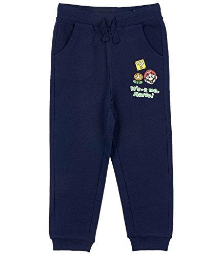 Super Mario Bros Chicos Pantalones de jogging - Azul marino - 134