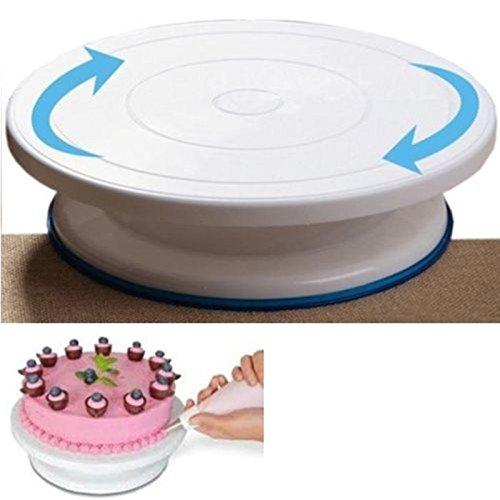 Présentoir pour gâteau Plateau tournant