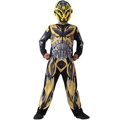 Rubie's Bumblebee - Transformers - Age of Extinction - Kinder-KostŸm - Medium - 116cm (Transformers Bumblebee Kostüm Kind)