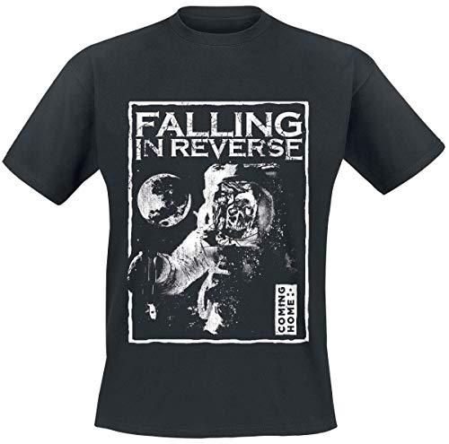 Falling In Reverse Spacewalk T-Shirt schwarz XL (Reverse Falling Band-t-shirts In)