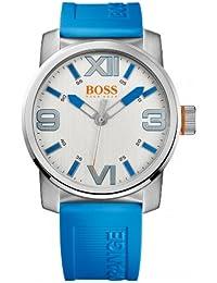 Hugo Boss Herren-Armbanduhr XL Analog Quarz Kautschuk 1512987