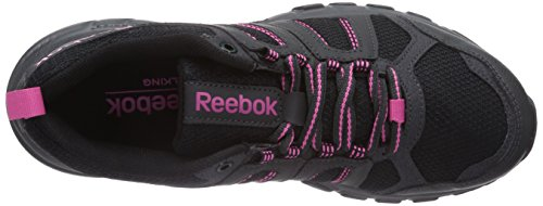 Reebok DMX Ride Comfort RS 2.0, Chaussures de marche mixte adulte Noir - Schwarz (Black/Gravel/Graphite/Pink/Foggy Grey)