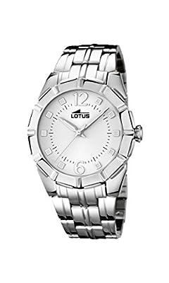 Lotus 15987/1 - Reloj de pulsera Mujer, Acero inoxidable, color Plateado