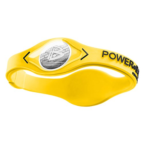 Power Balance / GWSA09BK00WTLP Bracelet silicone Yellow/Black