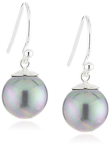 ZEEme Pearls Damen-Perlohrhänger 925 Sterlingsilber 360230225-1