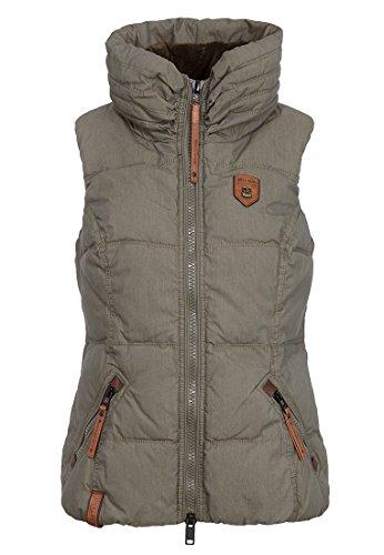 Damen Jacke Naketano Bademeister Flavour Jacke, Größe XL, Farbe Olive