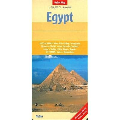 Egypt : 1/750000