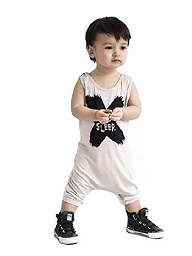 Onesie Kurzarm Baby IHRKleid® Baby Niedlich Cartoon Kaninchen Overall Bodysuit Strampler (100, 24-36 Monat, Grau)