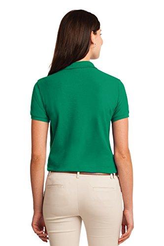Port Authority - Polo - Body chemise - Femme vert kelly