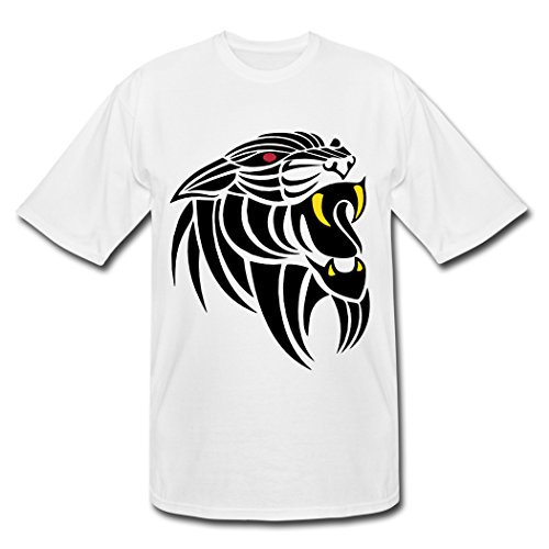 Original Panther Tattoo Wei? Males T-Shirts X-Large