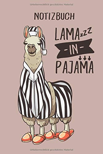 yjama, 120 Seiten gepunktet, eckiger Buchrücken, genug Freiraum für all deine Notizen, Gedanken, Ideen im Lama & Alpaka Design ()