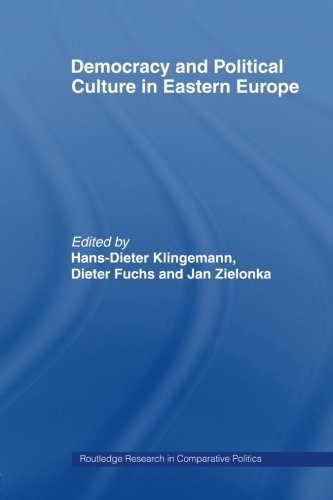 Democracy and Political Culture in Eastern Europe (Routledge Research in Comparative Politics) (2006-09-21)