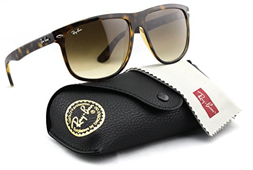 Ray-Ban RB4147 710/51 Sunglasses Tortoise / Light Brown Gradient Lens 56mm
