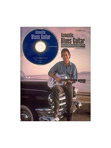 Acoustic Blues Guitar (Book/CD). Partitions, CD pour Tablature Guitare(Symboles d'Accords)