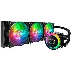 Cooler Master MasterLiquid ML360R RGB - Refrigeración (Procesador, 6 dB, 30 dB, 15 dB, 4 Pines, 3 Pines)