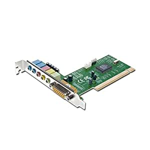 Carte Son PCI 5.1 MPU-401 MIDI Direct Sound 3D A3D HRTF Prises Jacks 3.5mm NEUF