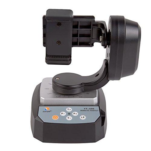 zifon yt-500 fernbedienung schwenk - neige - automatische motor drehen video - stativ kopf max laden 500g mit telefon - inhaber 18650 batterie für iphone 7 / 7 plus / 6 / 6 / 65 plus smartphone gopro (YT-500)