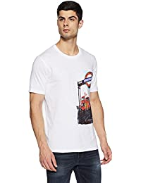 Lee Cooper Men's Printed Regular Fit T-Shirt