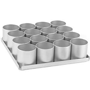 Alan Silverwood 16 Pieceround Multi Mini Cake Pan Set 2 5