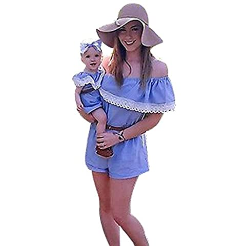 IGEMY - Combinaison - Bébé (fille) 0 à 24 mois - bleu -