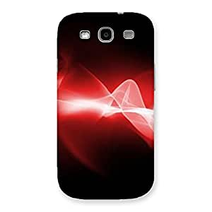 Neo World Red Flow Back Case Cover for Galaxy S3 Neo