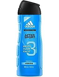 adidas 3 en 1 Sport Energy Gel de Douche 400 ml - Lot de 3