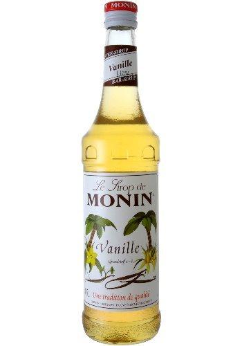 Monin Sirup Vanille 0,7 L - 0,7 Liter (Vanille-kaffee-sirup)