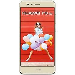 Huawei P10 Lite Huawei P10 Lite Smartphone, Memoria Interna da 32 GB, Oro