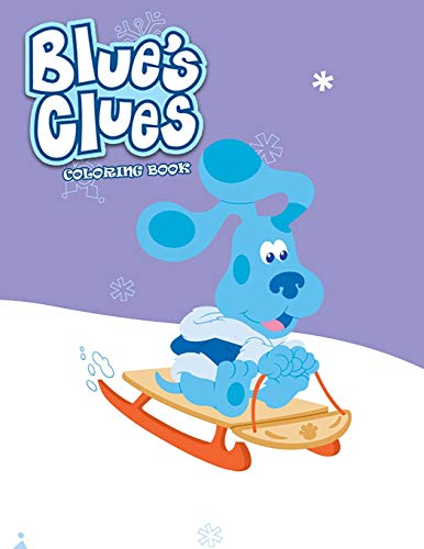 Blue's Clues Coloring Book: Coloring Book for Kids and Adults