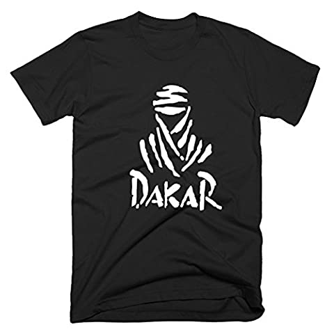 ShenLiNan Mens Race Dakar Rally Logo T-Shirt Short Sleeve Tee