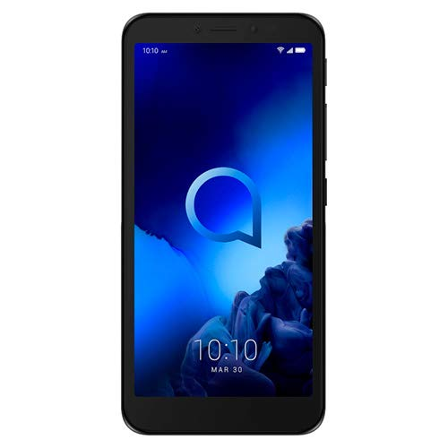 "Alcatel 1V - Smartphone de 5"" (Octacore, RAM de 1 GB, memoria interna de 16 GB, ampliable micro SD, cámara 8 MP) color negro"
