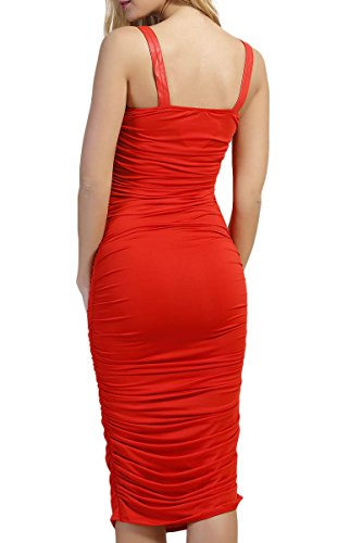 INFINIE PASSION - perles - Robe sexy rouge Rouge