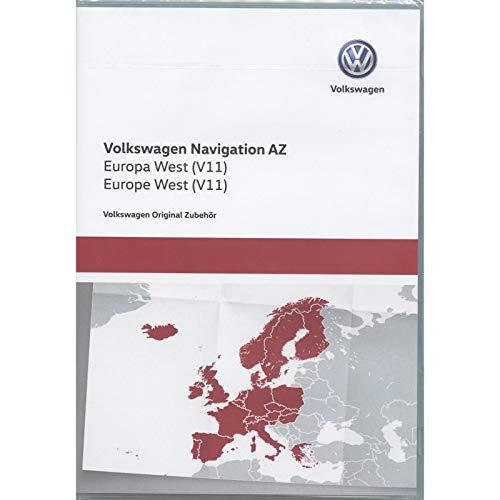 Volkswagen 3AA051866AT Original SD-Karte Navigation V11 Europa West RNS 315 Navigationssystem AZ Navi Software VW Update