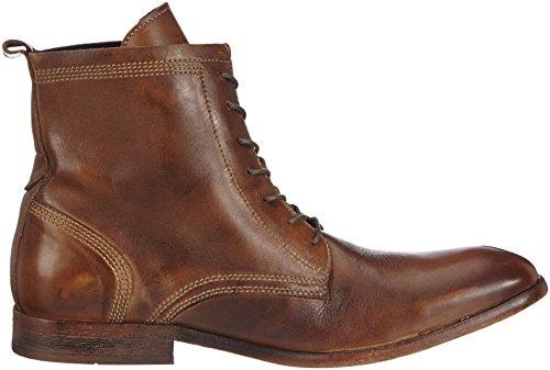 Hudson London Swathmore Herren Biker Boots Braun (Tan)