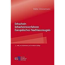 erbschein erbscheinsverfahren europisches nachlasszeugnis - Erbschein Beantragen Muster