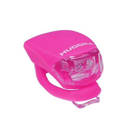 HUDORA LED Licht Shine, pink, LED Lampe inkl. Batterien und 2 Funktion: Blink- und Dauerlicht