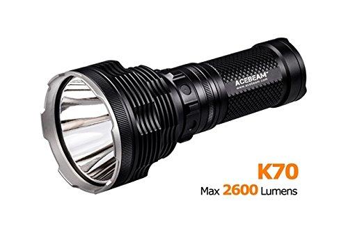 Preisvergleich Produktbild AceBeam K70 CREE xhp35 Hi 2600lm Überwurf 1300 M LED Taschenlampe hellste Taschenlampe