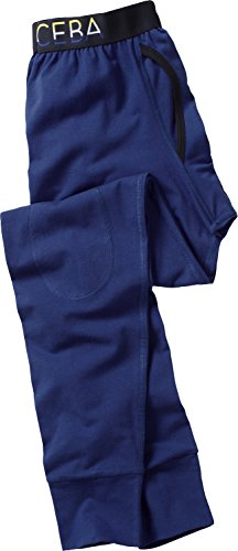 Ceceba Unterhose, lang Single-Jersey dunkelblau Größe 4