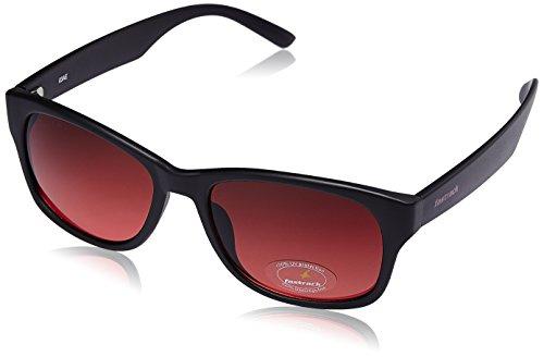 Fastrack Wayfarer Men\'s Sunglasses (PC001RD17|53 millimeters|Maroon)