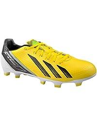 the latest 5e00e 5b1fc adidas f30 TRX Firm Ground Soccer Cleat (Vivid Yellow, Black, Green Zest)