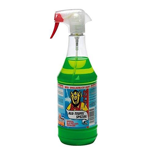 felgenteufel gruen 2x TUGA Alu-Teufel Spezial Felgenreiniger, 2x 1000 ml Sprühflasche