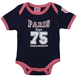 2e562b2278cdf Body bébé – Collection officielle – STADE Français PARIS – Rugby baby TOP 14