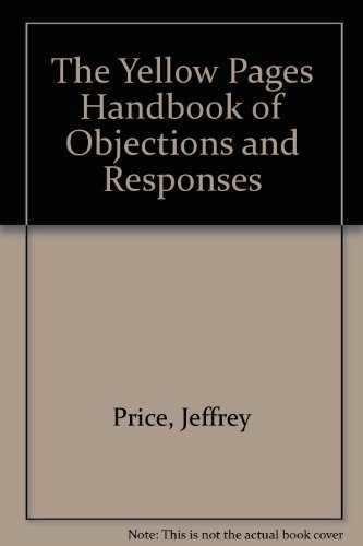 the-yellow-pages-handbook-of-objections-and-responses-by-jeffrey-price-1988-05-30